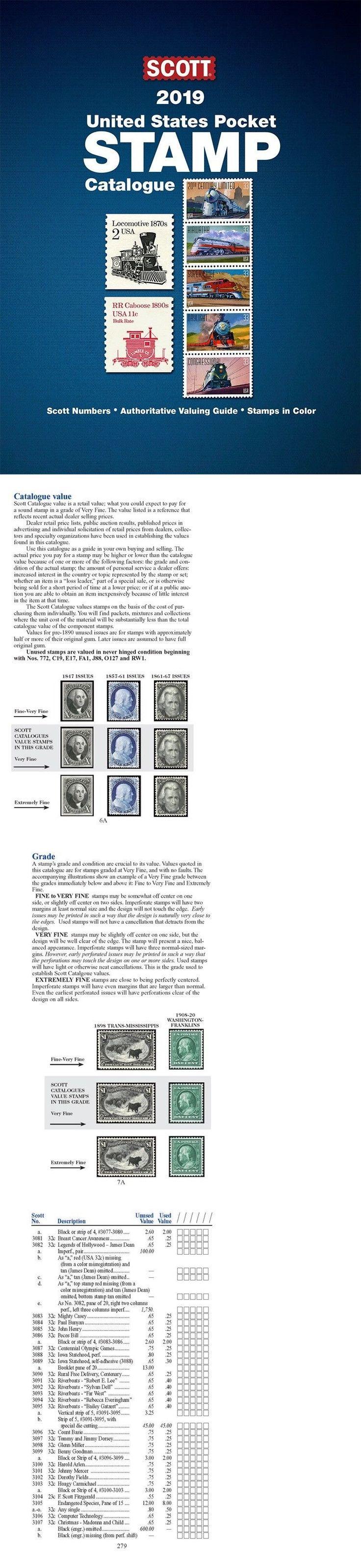 Details about new 2020 scott united states us pocket stamp