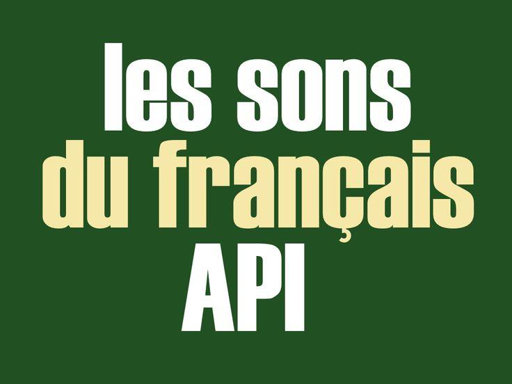 Tableau des sons du français : Alphabet A.P.I avec audio. Tableau à télécharger gratuitement. Exercices complémentaires dans la catégorie phonétique.