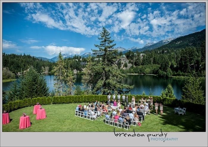Private estate wedding, Whistler