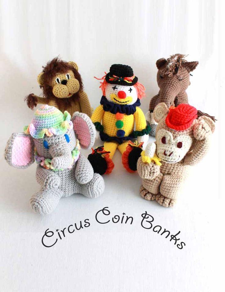 66 best elefantes images on Pinterest | Crochet toys, Crochet ...