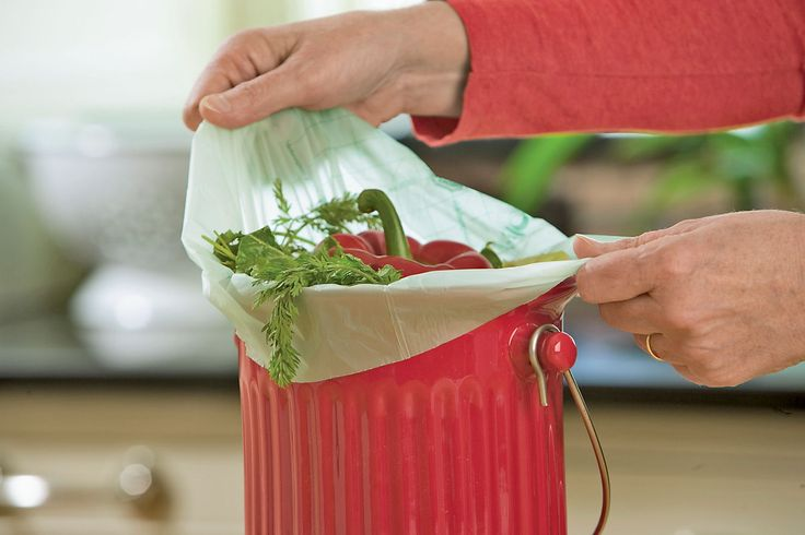 BioBags for Kitchen Composting, Biodegradable Bags | Gardener's Supply