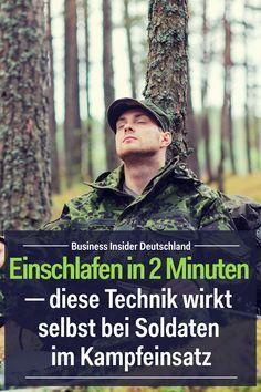 Einschlafen in 2 Minuten ─ diese Technik wirkt selbst bei Soldaten im Kampfeinsatz