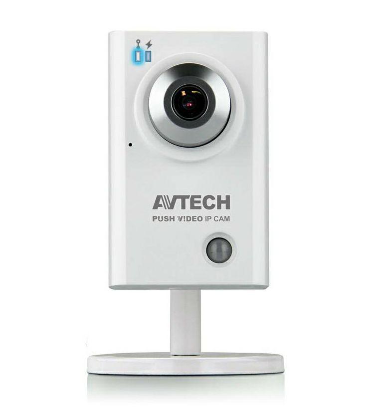 ΚΑΜΕΡΑ IP AVTECH AVN801Z 1/4 SONY Υψηλής ανάλυσης PUSH VIDEO All-in-One