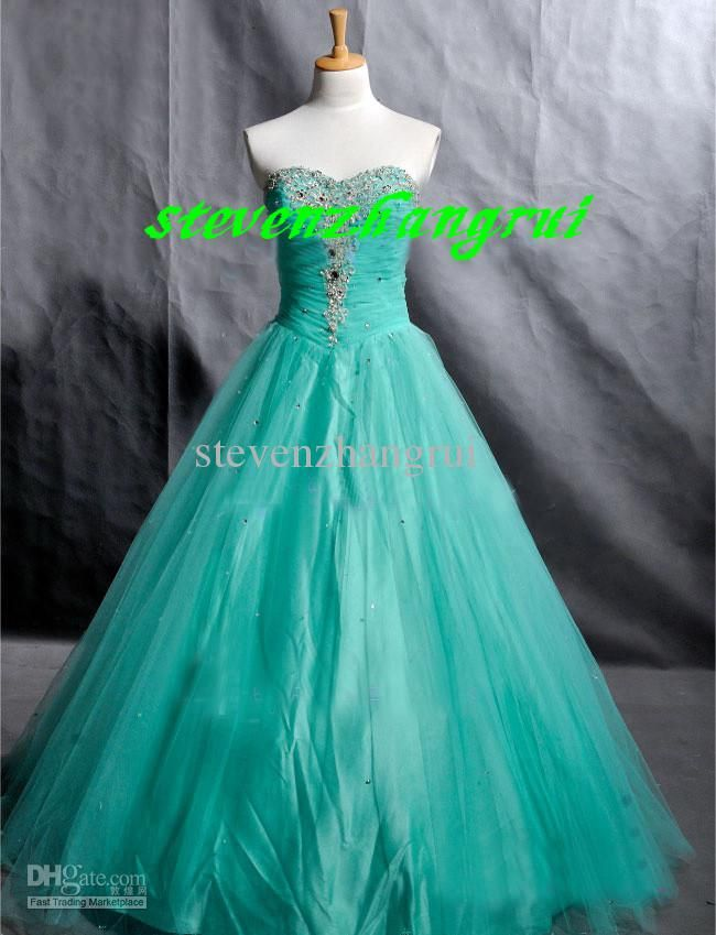 Wholesale Sexy Sweetheart Prom Dress Ball Gown Beaded Floor Length Lace Up Corset Cheap Evening Dress Gowns, Free shipping, $114.45-138.0/Piece | DHgate