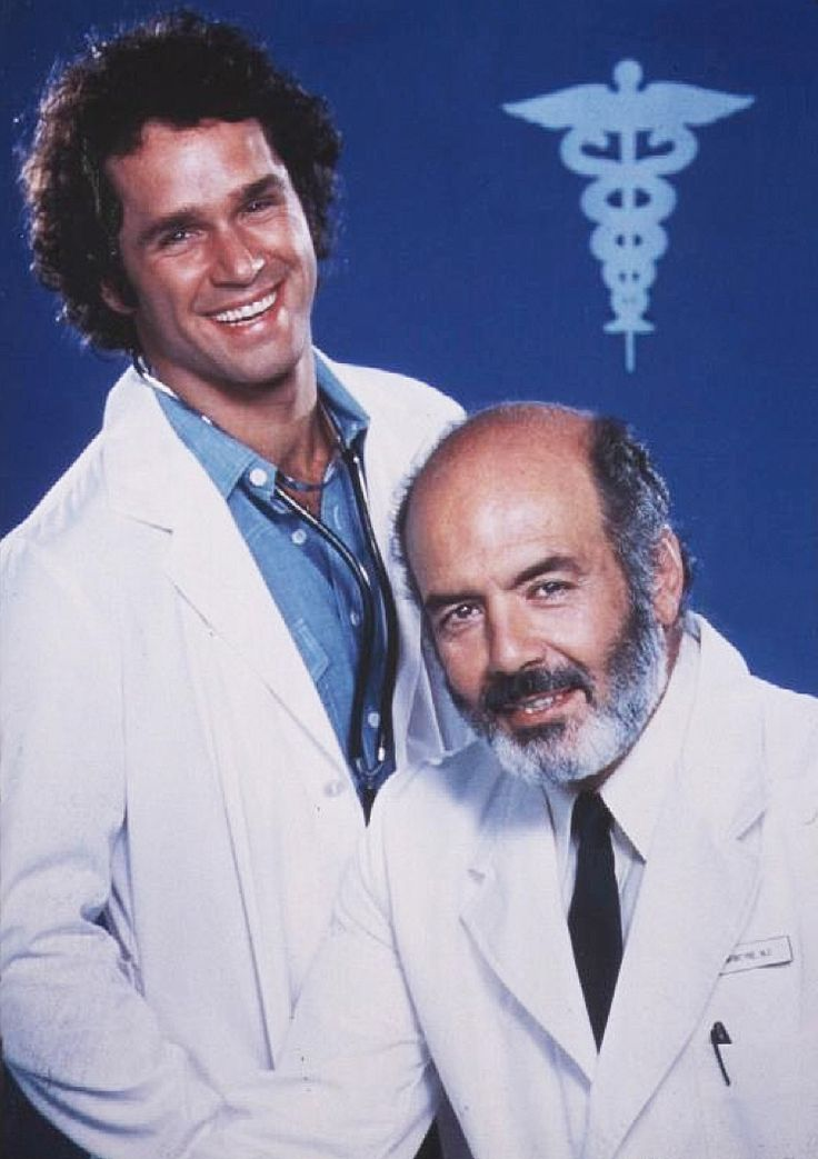 Gregory Harrison & Purnell Roberts in Trapper John, M.D. (1979-86, CBS)