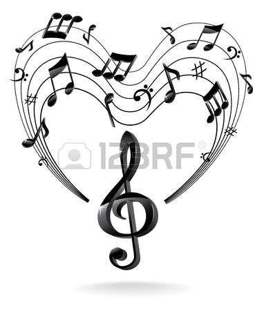 Háttér Music Note.