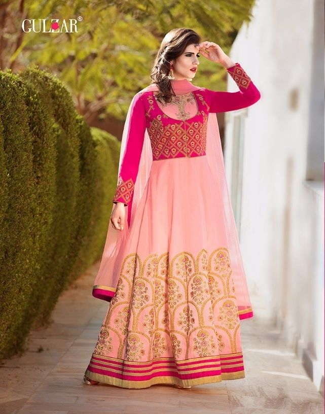 c78f1b7623 Pink #Color #Banglori #Silk #Embroidered #Party #Wear #salwar #suit ...