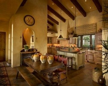Old World - mediterranean - kitchen - phoenix - Rondi Kilen Interior Design, LLC