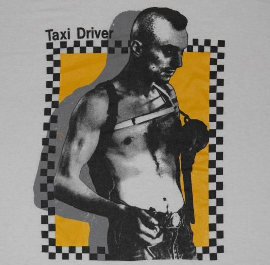 Super rare Taxi Driver movie t-shirt. Excellent condition. No rips no stains. Soft poly/cotton blend.