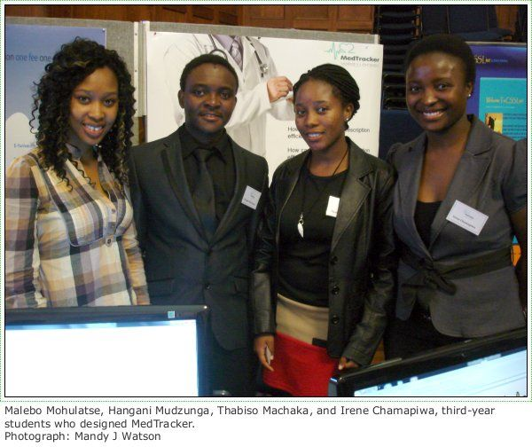 Impressive Student Projects Showcased At UCT's Annual IS Expo