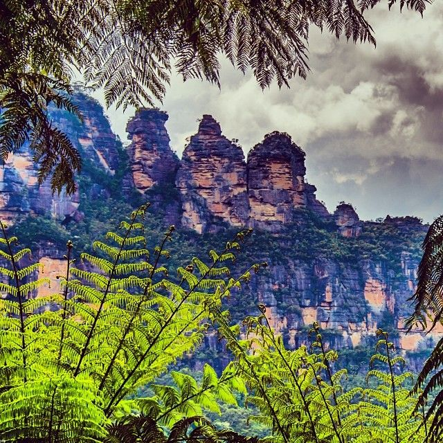 The Three Sisters, Blue Mountains NP Near #Sydney