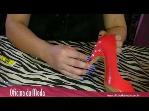 Como customizar sapatos