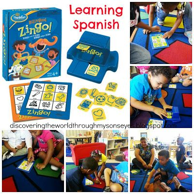 Learning Spanish With Board Games Spanish Language Summer Program: Day #1