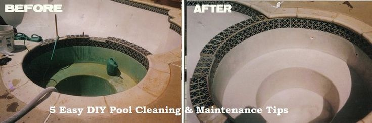 """Hiring a professional #PoolCleaning firm is a good idea to keep your pool """"swim-ready"""" every time. In case you want to clean it yourself, try these 5 DIY #PoolCleaning & #Maintenance Tips"""
