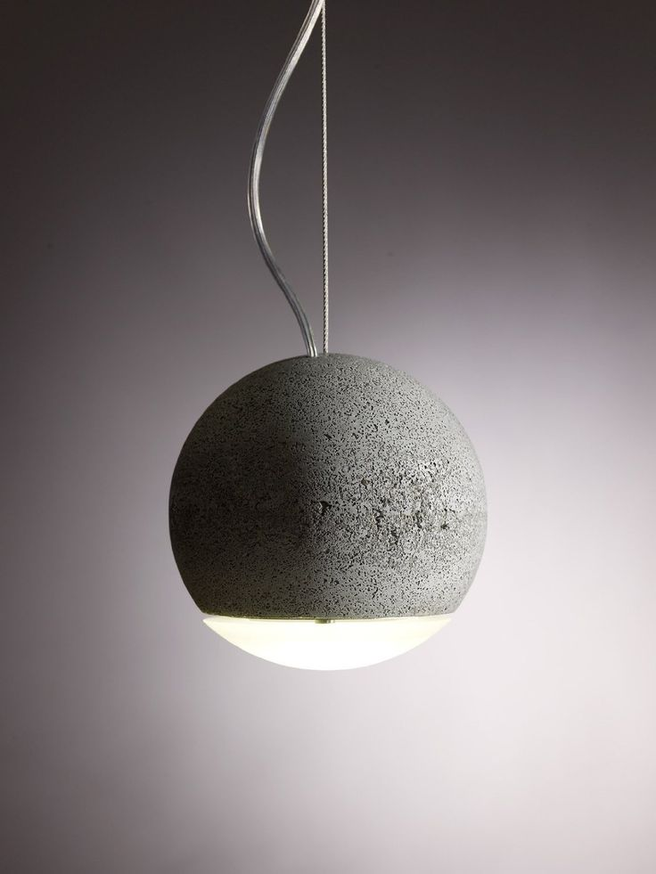 Clever Concrete Lights  조명, 아이디어 및 인테리어