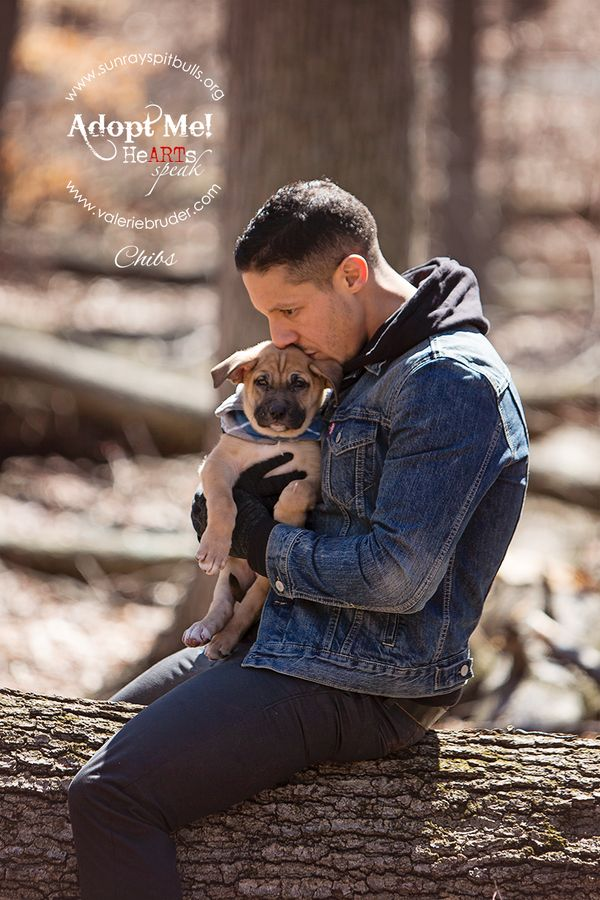 "Theo Rossi and an adorable puppy named ""Chibs"""