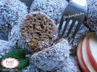 Fitti Konyha: Fitti kókuszgolyó készítése zabpehelyből