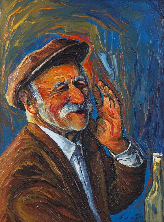Ροβίθης Μάνος – Manos Rovithis [1927-1998] Old man
