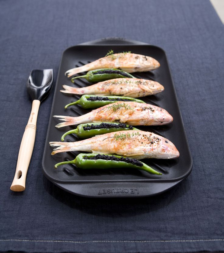#lecreuset #grill #kitchen #madeinfrance #fish #cooking