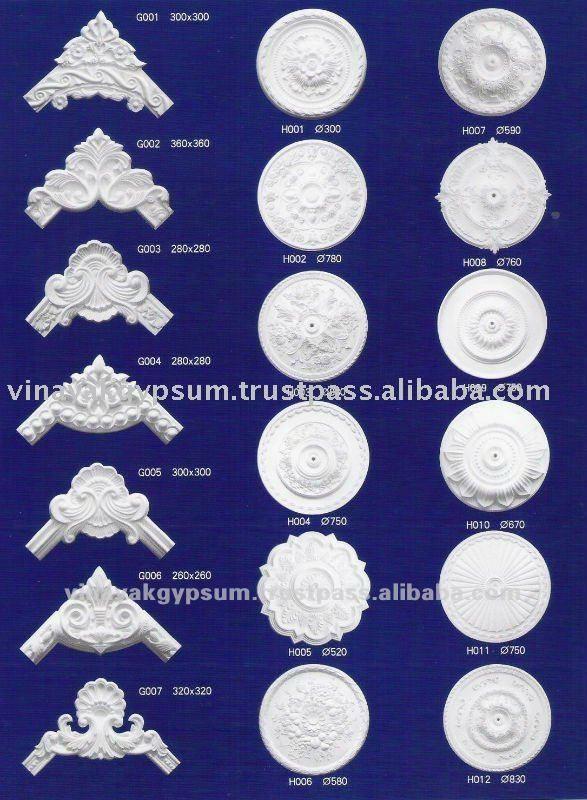 Gypsum Plaster Ceiling Rose