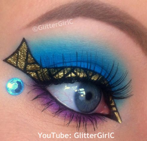 inspired by Monster High series Cleo de Nile by GlitterGirlC | Makeup
