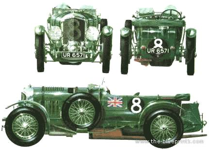 Bentley 4.5 litre Supercharged (1930)