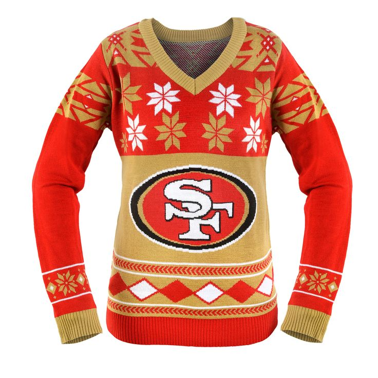 San Francisco 49ers Ugly Christmas Sweaters | Football | Pinterest ...