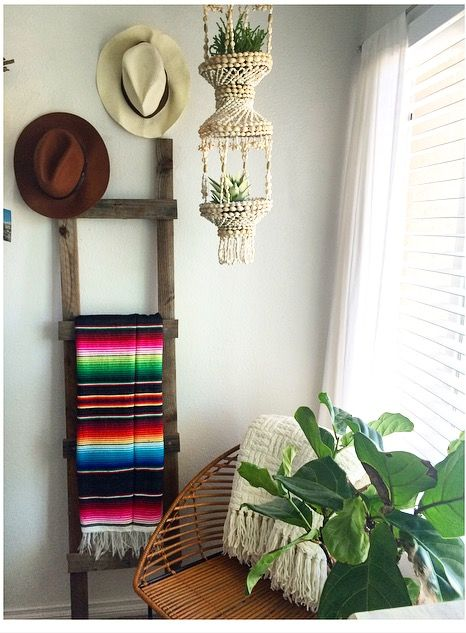 Mexican serape blanket decor                                                                                                                                                                                 More
