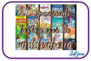 ©JufYvon: Kinderboekenweek 2017: 20 spannende boeken voor de middenbouw