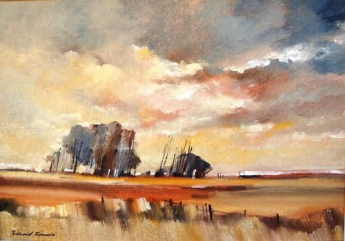 Purchase artwork Autumn Landscape - Oil Painting by South African Artist Richard Rennie
