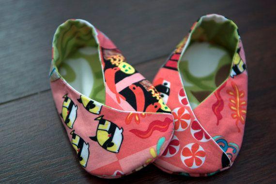Kimono insieme scarpa - corallo stampa hawaiana