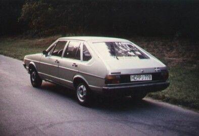 Passat 1978 Heckansicht