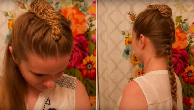 Meereenese French Braid (Game of Thrones Hairstyle Tutorial)