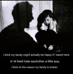 broken family issues