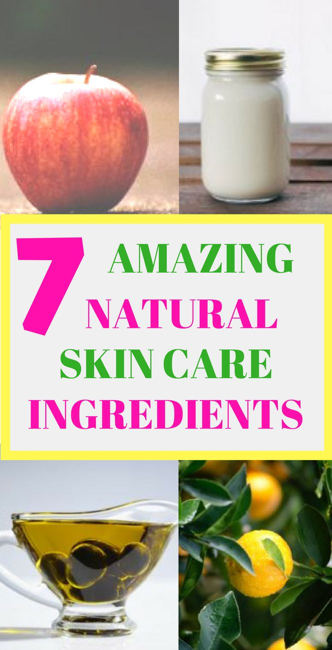 Beauty Products From Your Kitchen Natural Skin Care Skin Care