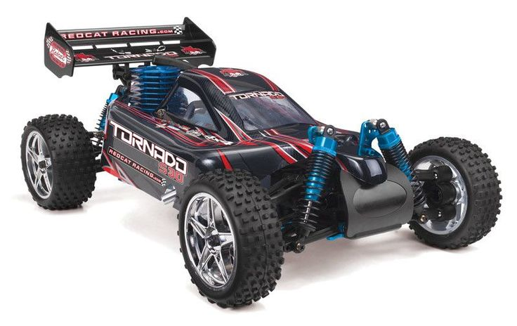 TORNADO S30 RC CAR 1/10 SCALE NITRO BUGGY BY REDCAT