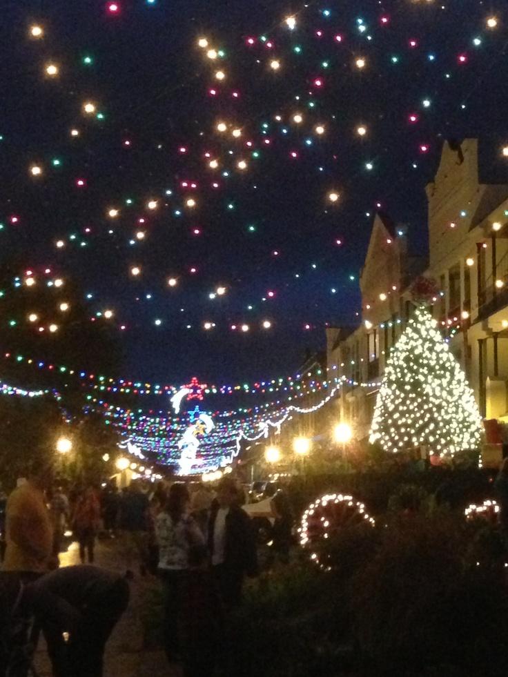 Festival of Lights in Natchitoches, LA 2012 Louisiana