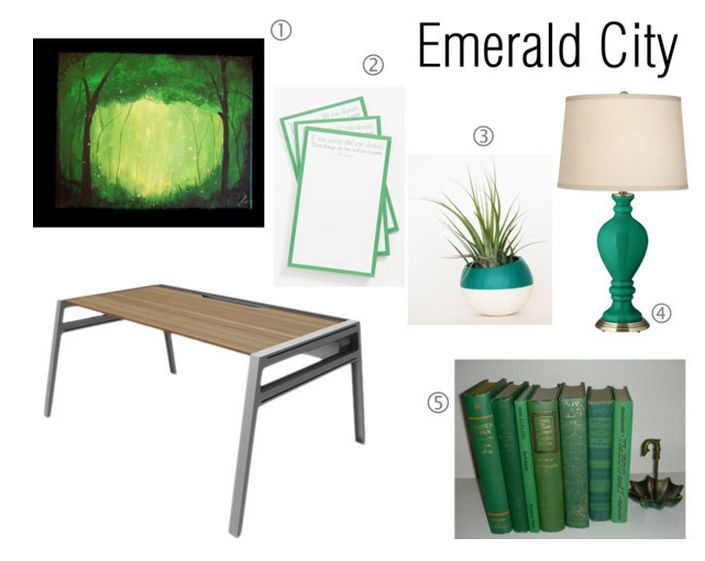 Emerald Office Supplies On Sayeh The Stylist Featuring A Lamps Plus Civitia