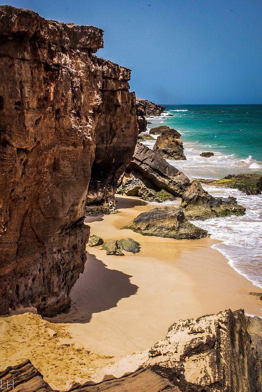 falaise | Boa Vista, Sal | Cape Verde