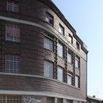 Wagenhalle mit Wohngebäude ABOAG-Betriebshof Wohngebäude (Betriebshof Treptow) | ABOAG Depot (Treptow Depot) Parking Garage with Flats, Eichenstraße 4, Berlin-Treptow (E), Franz Ahrens 1927-28