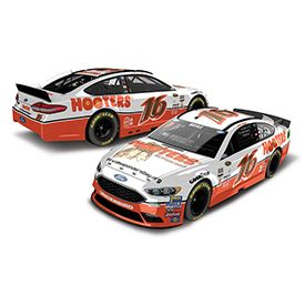 Roush Automotive Collection Store - Greg Biffle 2016 Hooters 1:24 Die-cast (3504), $44.99 (http://store.roushcollection.com/new-in-2017/greg-biffle-2016-hooters-1-24-die-cast-3504/)