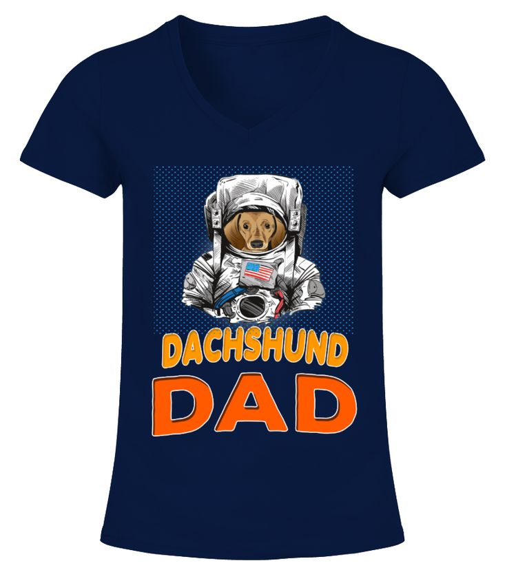 Dachshund Dog In Astronaut Suit Dad