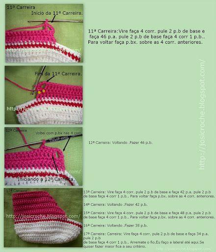 Paaso a passo Tênis All Star em croche - Lety Munive - Álbuns da web do Picasa