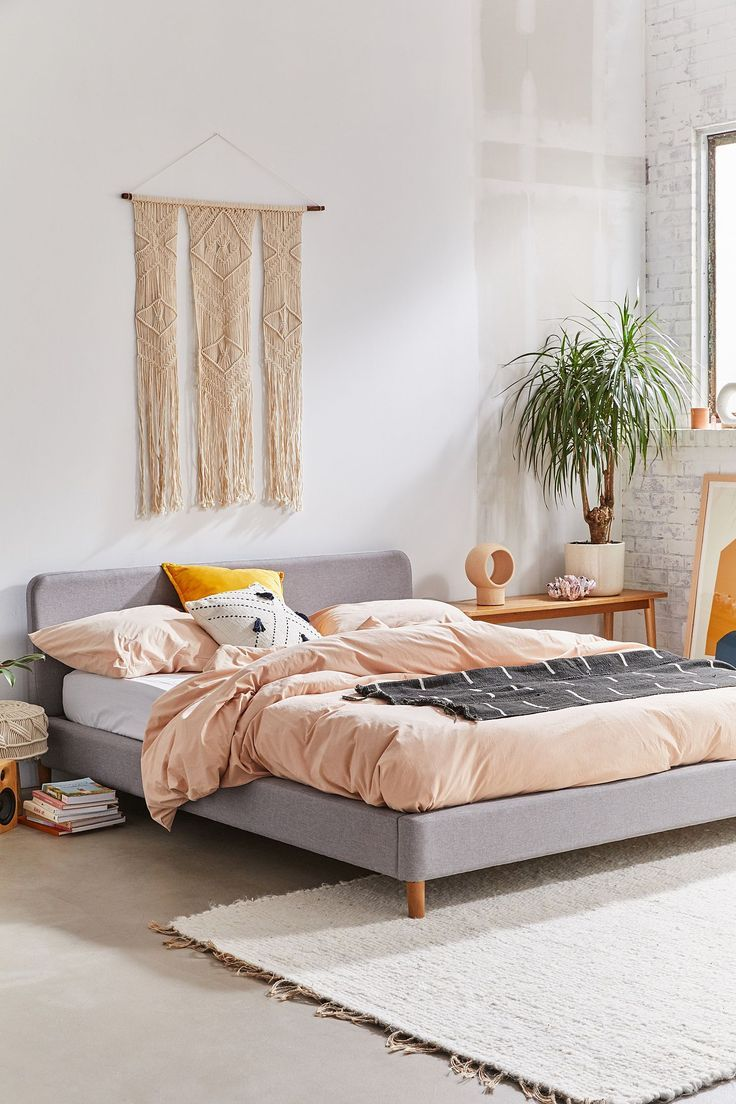 Riley Platform Bed Urban Outfitters Bedding Apartment Bedroom