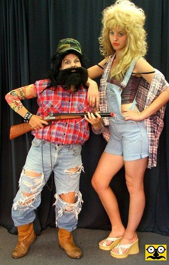 hillbilly outfit - Google Search