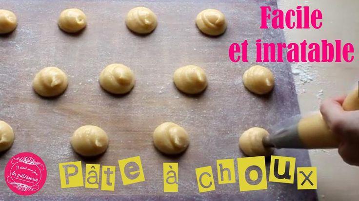 La meilleure pâte à choux pour les chouquettes, éclairs, Paris-Brest etc en vidéo !
