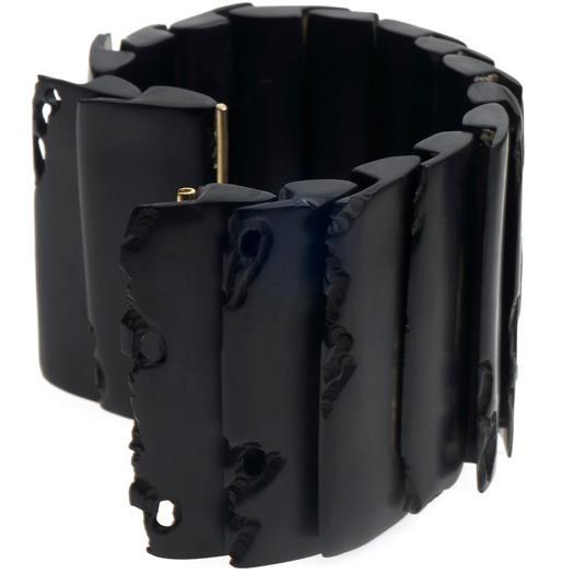 Jacqueline Cullen - whitby jet bracelet