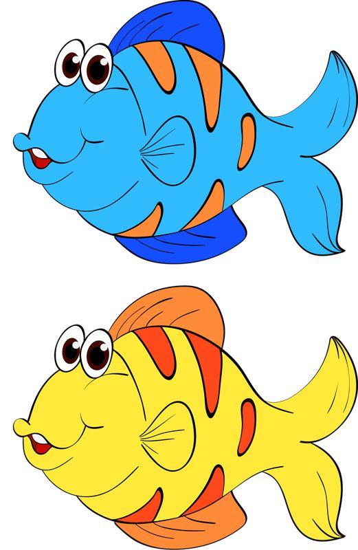 картинки мультяшных рыбок распечатать потом сиденья вовсе