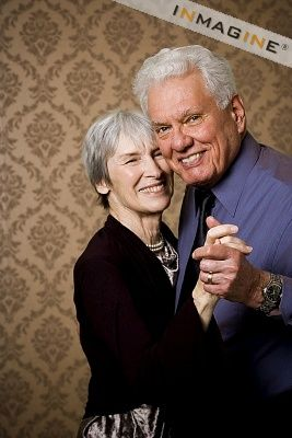 Older couple pose idea - dancing