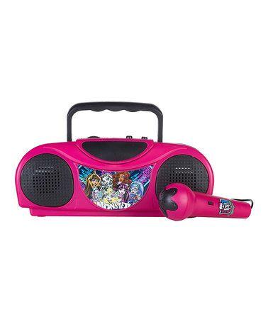 This Monster High Karaoke Radio Kit is perfect! #zulilyfinds
